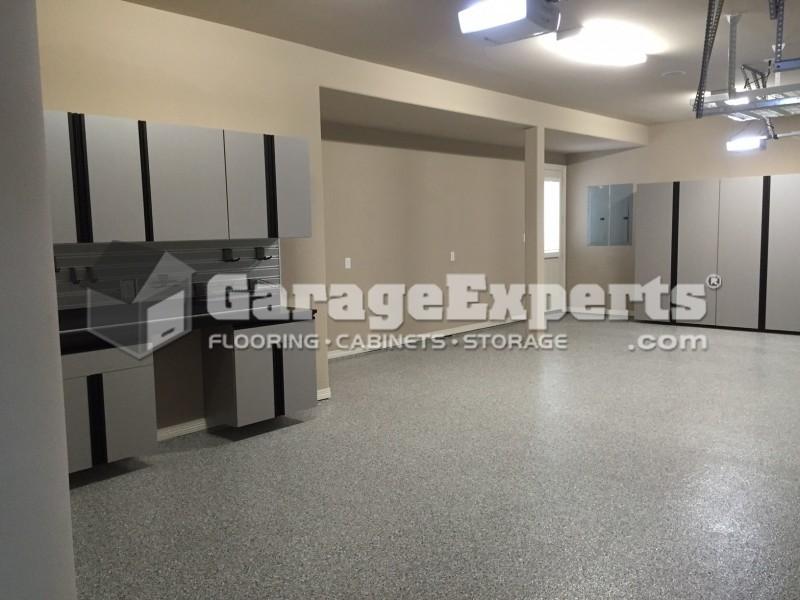 3 Car Garage Makeover In Porter, TX