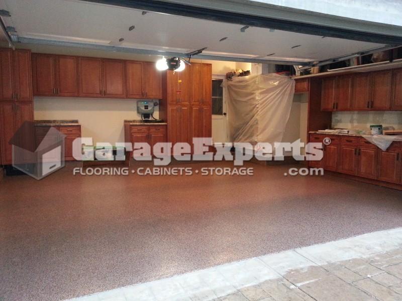 El Dorado Garage Experts Recent Garage Floor Epoxy