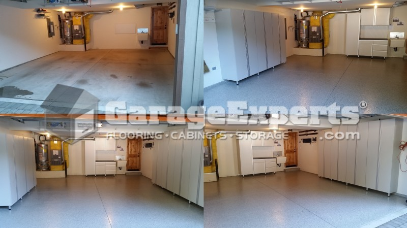 South Lake Tahoe   Garage Storage Cabinets   Garage Epoxy Floor