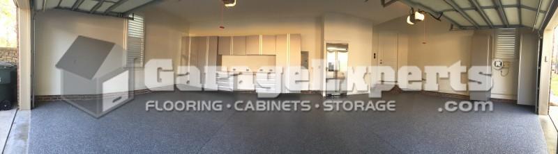 Mooresville Nc, Garage Floor Epoxy And Garage Cabinets