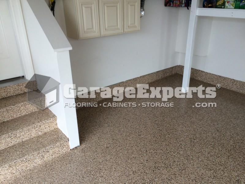 Saddle Tan Epoxy Garage Floor The Bayside Community