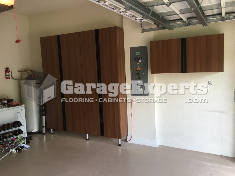 Garage Cabinets And Ceiling Racks Insatlled In Sarasota (Palmer Ranch The  Isles)