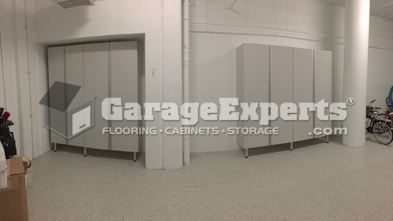 Garage Cabinets Installed On Longboat Key (The Aria)