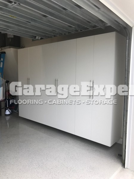Garage Cabinets Installed On Marco Island