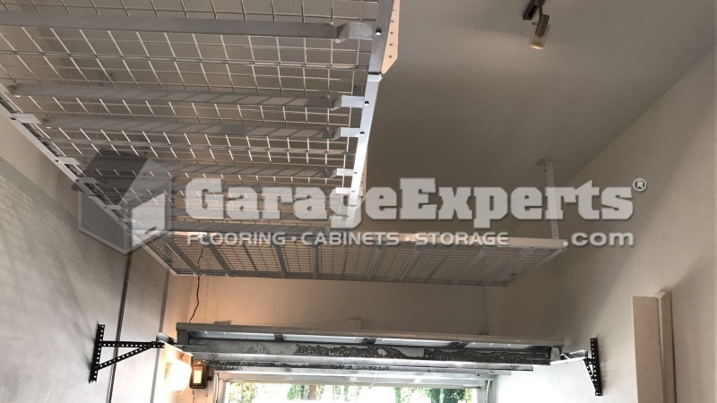 Over Head Ceiling Racks Installed In Coral Gables FL