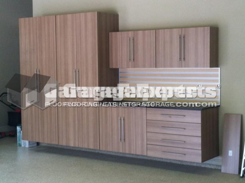 Epoxy Coating And Cabinets, Garage Floor, Roseville, CA