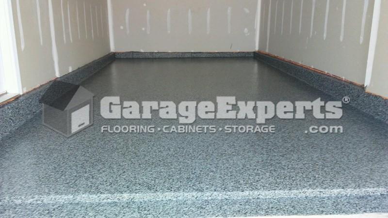 New Graphite Epoxy Garage Floor In Frankford De Garage
