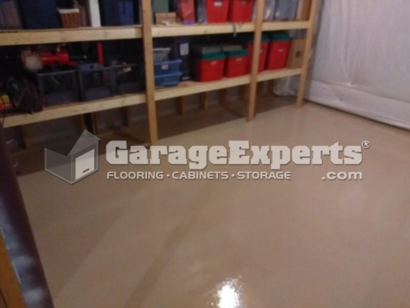 Epoxy Floor In Basement   Rehoboth Beach, DE