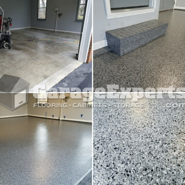 Garage FX Coating System Installed in Charles County