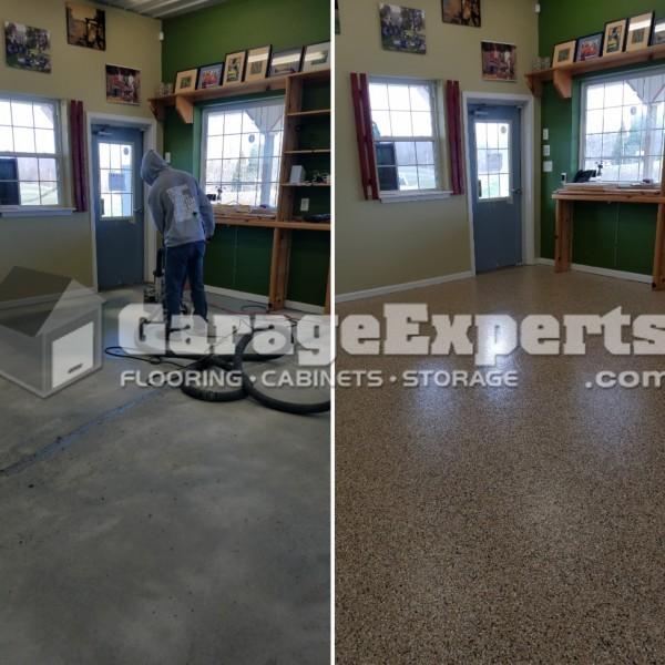 Garage FX Coating System Installed in Calvert County