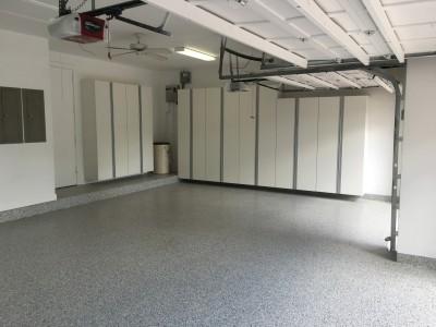 Complete Garage Makeover in Weston, FL