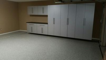 Frisco Texas garage cabinets