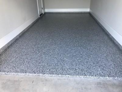 Garage Epoxy Flooring - Cane Island (Katy, TX)