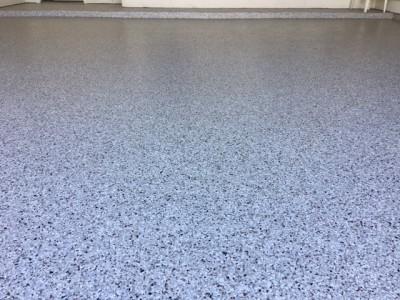 Garage Epoxy Flooring - Firethorne (Katy, TX)