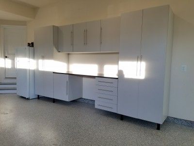 Garage Experts Cabinets installed in Anne Arundel County